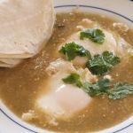 """Huevos Ahogados En Salsa Verde – """"Drowned Eggs"""" – Recipe"""