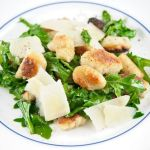 Pan-Fried Potato Gnocchi with Arugula – Recipe
