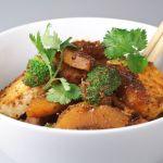 Red Curry Delicata Squash and Tofu – Recipe