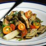 Braised Baby Artichokes with Fennel and Cherry Tomatoes – Recipe
