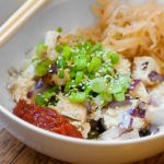 Tofu and Kimchi Dinner for One – Recipe