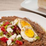 Ethiopian Ful Medames – Fava Beans with Berbere and Tasty Garnishes – Recipe