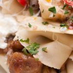 Pappardelle with Eggplant Ragu and Fresh Ricotta – Recipe