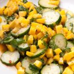 Cucumber and Mango Salad with Sweet Chili Dressing – Recipe