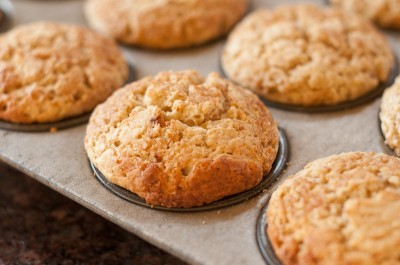Banana, Buttermilk and Brown Sugar Muffins