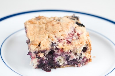 Raspberry Blueberry Buckle