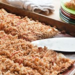 Apple Crostata with Breadcrumb Streusel – Recipe for #pieday