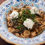 Orecchiette with Garlic Scapes, Ricotta, and Gremolata – Recipe