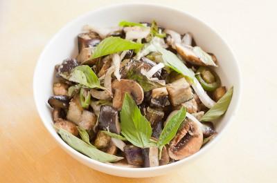 Thai Basil Eggplant