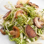 Warm Frisee Salad with Brown Butter Vinaigrette