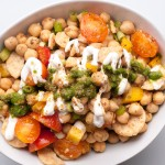 Wacky Chana Chaat – Spicy Chickpea Snack – Recipe