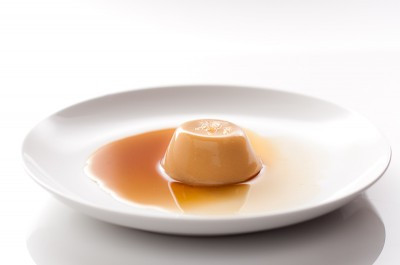 Banana Buttermilk Panna Cotta (unmolded)