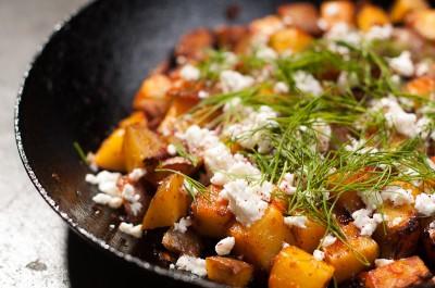 Harissa Potatoes