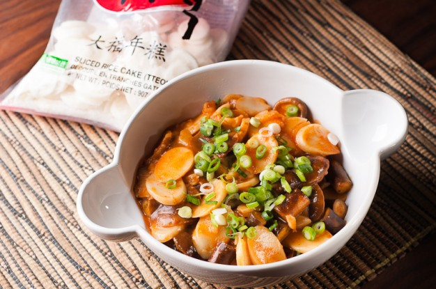 Tteokbokki, Ddeokbokki, Dduk Boki - Spicy Korean Rice Cake Stew