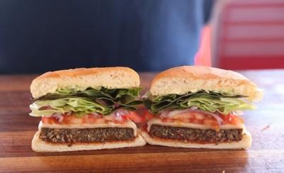 Hi-Tech Mushroom Burger