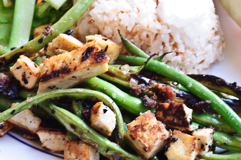 Vietnamese lemongrass green beans and tofu recipe vietnamese lemongrass green beans and tofu recipe forumfinder Image collections
