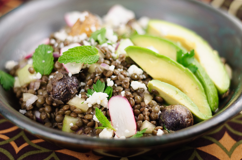 Latin american french lentil salad recipe herbivoracious latin american french lentil salad recipe forumfinder Image collections