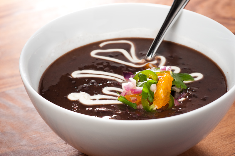 Black Bean Soup Recipe With Mild And Intense Variations