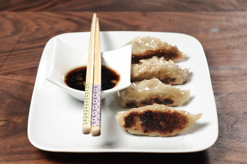 Vegetarian Potstickers Gyoza Recipe Herbivoracious Vegetarian Recipe Blog Easy Vegetarian Recipes Vegetarian Cookbook Kosher Recipes Meatless Recipes