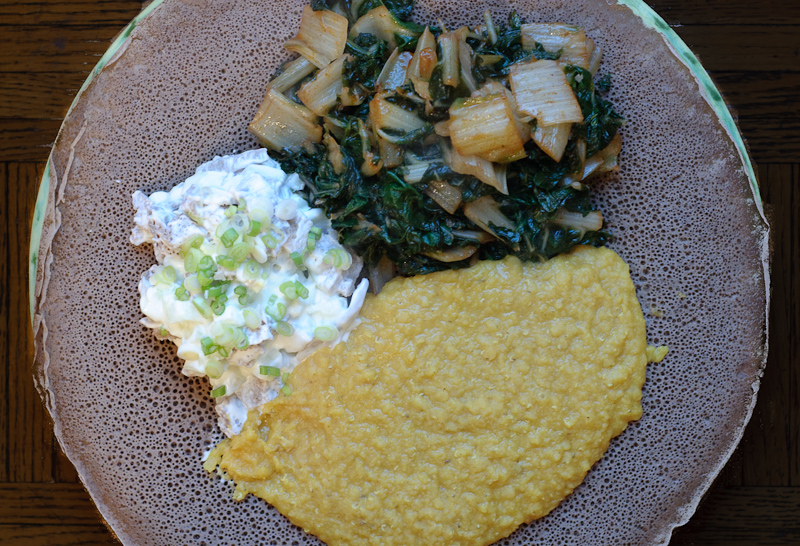 Mesir Wat, an Ethiopian red lentil puree