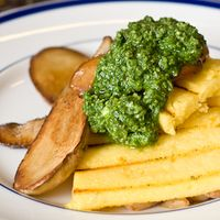 King-Oyster-Mushrooms-With-Grilled-Polenta-And-Pesto-Small