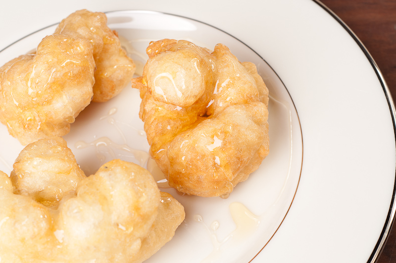 Bunuelos (or Bimuelos) with Honey - Sephardic Hanukkah Donuts