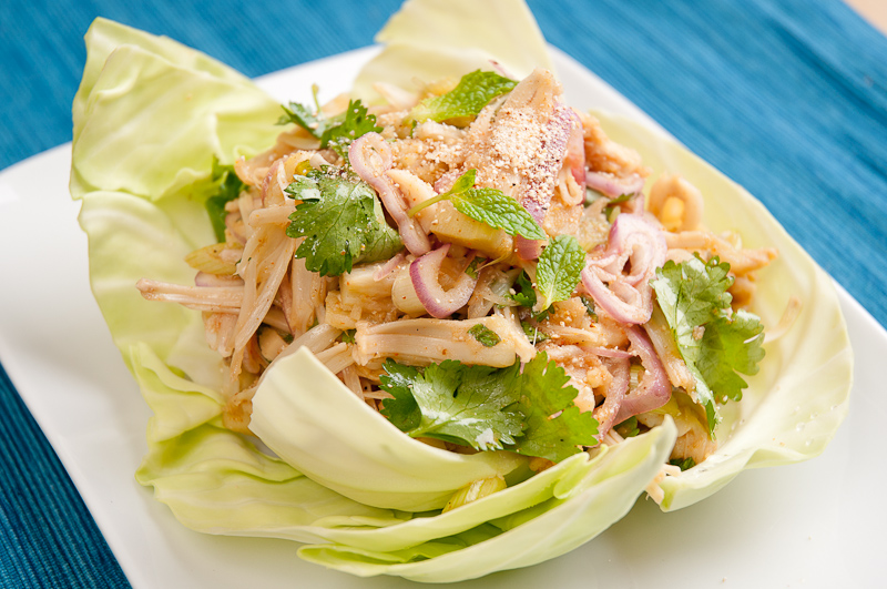 Larb Jackfruit Laotian And Thai Salad Recipe Herbivoracious